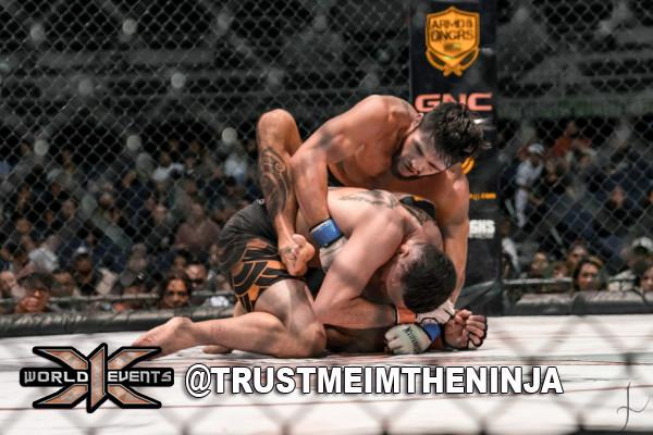 Jace Kaopua vs Analu Mattos Winner TKO 3rd round 155lb ST