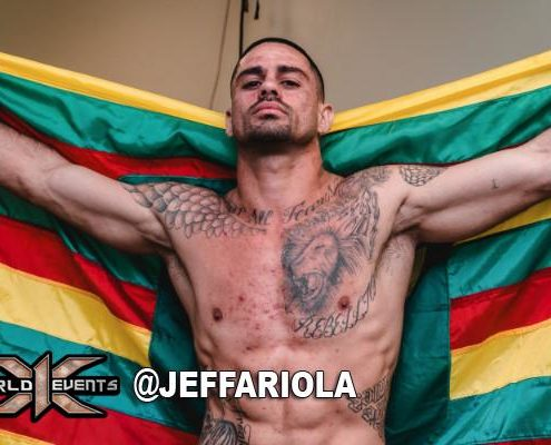 Isaac Josiah MMA FIghter X1 World Events