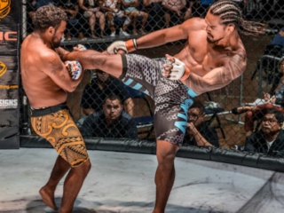 x1 54 MMA Hawaii, Blake Cooper