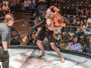 x1 54 MMA Hawaii, Akeem Coit, Jake Monroe