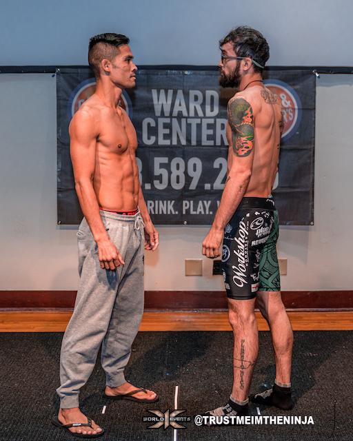 x1-55-Tyson Nam vs Shojin Miki Weigh in Photo
